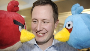 Rovio CEO Mikael Hed. The company is valued by analysts at between €6bn and €9bn