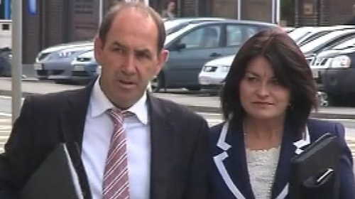 Fidelma Healy Eames' car was seized in Galway last month
