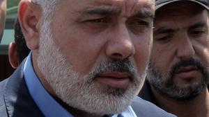 Palestinian Hamas premier in the Gaza Strip Ismail Haniya