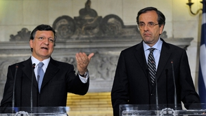 Talks held between José Manuel Barroso and the Greek prime minister