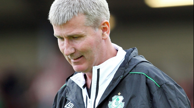 Stephen Kenny was sacked less than nine months after taking charge of Rovers