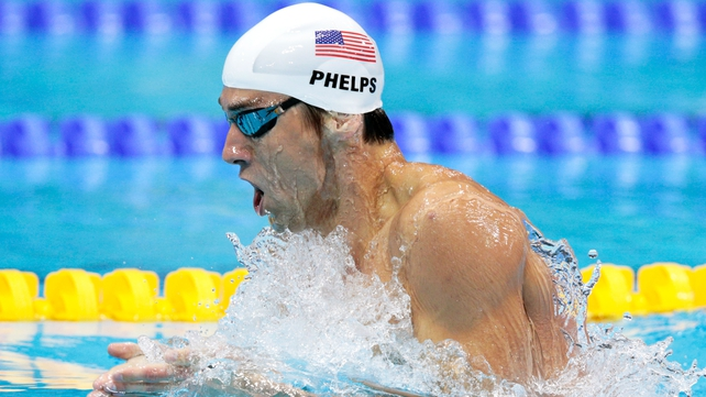 The once imperious Michael Phelps could finish no better than fourth in the 400m individual medley