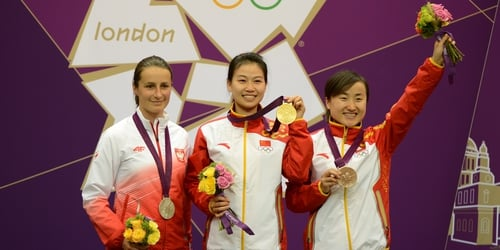 Ye Siling won the opening gold medal at London 2012 for a powerful team from China