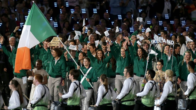Flag-bearer Katie Taylor gets her Olympic campaign underway this afternoon