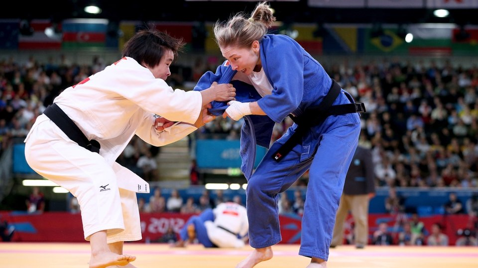 Day 1: Lisa Kearney was defeated by Shugen Wu of China and exited the judo competition