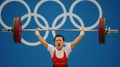Weightlifting: Wang wins Olympic gold