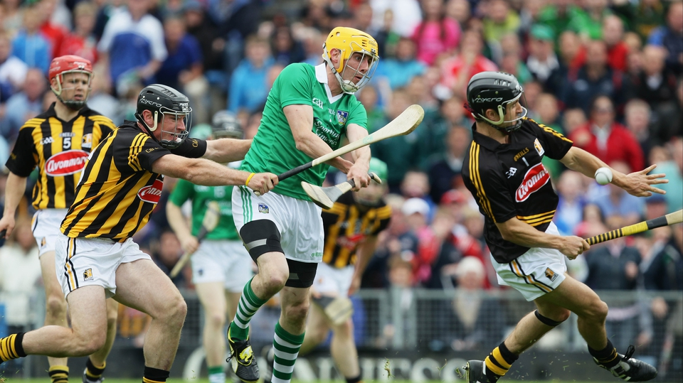 But Kilkenny's Kieran Joyce and goalkeeper could not stop David Breen of Limerick from scoring the opening goal