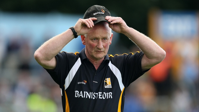 Brian Cody admitted his side were lucky  to lead Limerick by a point at half time