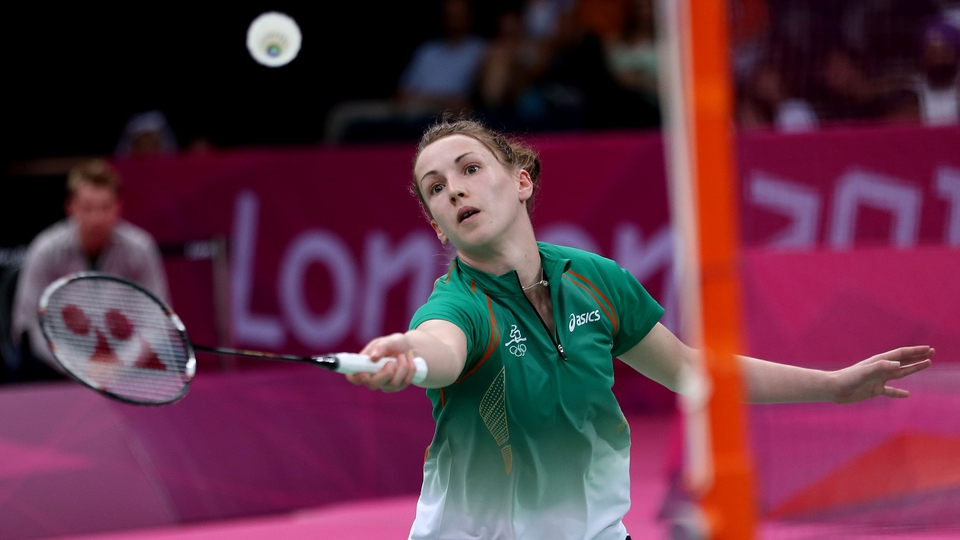 Day 2: Chloe Magee had a comfortable 21-17 21-6 victory against Hadia Hosny in her badminton group match