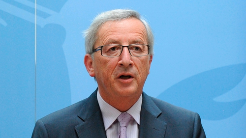 """Mr Juncker said: """"I will convene the government tomorrow morning at 10am and will go to the Palace to suggest snap elections to the Grand duke"""""""