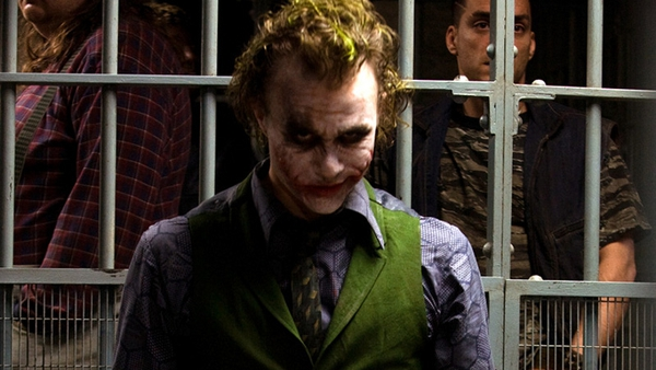 Heath Ledger played the part of the joker in the 2008 movie