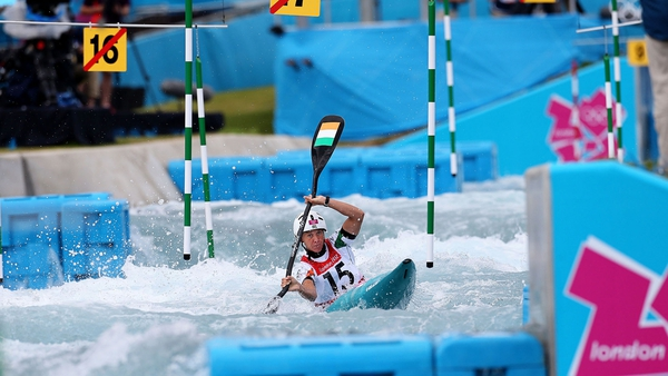 Hannah Craig is through to the semi-finals of the Canoe Slalom