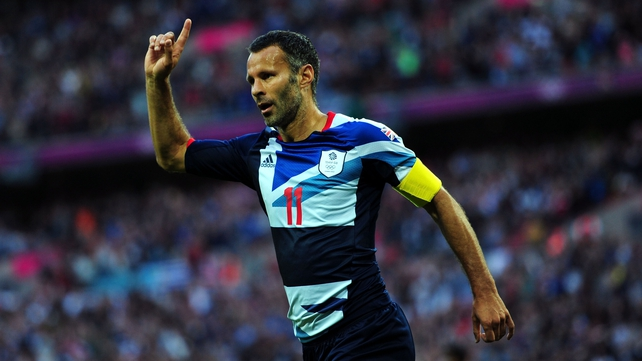 Team GB captain Ryan Giggs opened the scoring in his side's 3-1 victory at Wembley