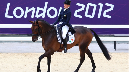 Camilla Speirs and horse Portersize Just a Jiff avoided serious injury after an ugly fall