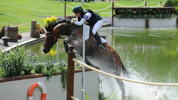 Aoife Clark finished seventh in the Individual Jumping