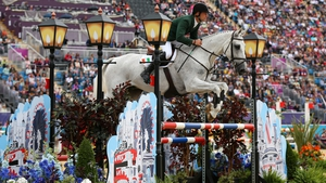 Ireland's Mark Kyle finished 21st in the individual showjumping at Greenwich