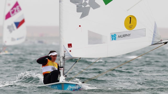 Annalise Murphy has collected the lowest number of points in her first four races, which conversely places her top of the Laser Radial rankings