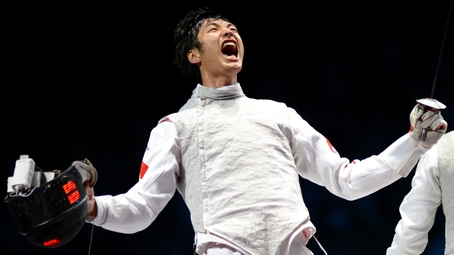 Lei Sheng took gold for China