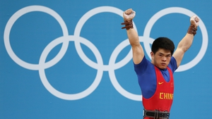 Lin Qingfeng celebrates victory