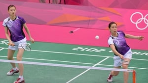 South Koreans Jung Kyung-eun and Kim Ha-na appeared to try their best to lose but China 'won' that battle