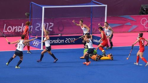 Britain banged five goals past a leaky South Korea at the Riverbank Arena in London