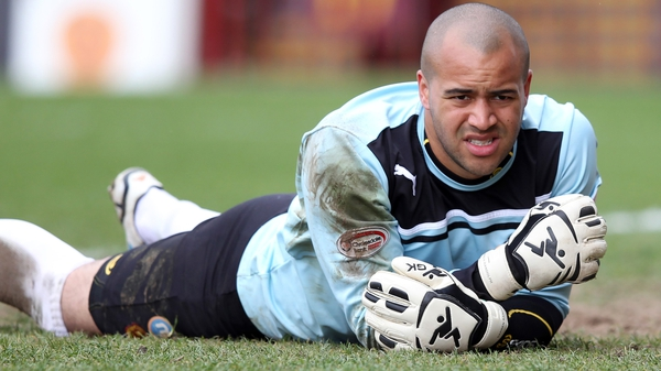 Darren Randolph made his Ireland debut against Oman in September