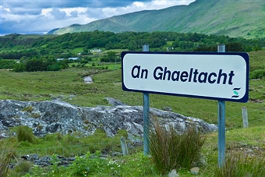 Siúbhan Nic Grianna ó Údaras na Gaeltachta.