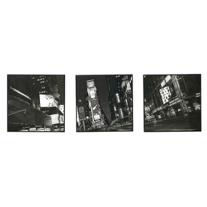 Graham & Brown Times Square Canvases (3 piece set), €19, www.littlewoodsireland.com
