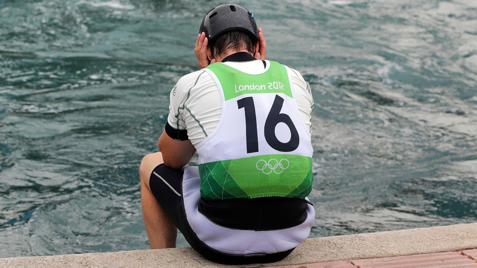Day 5: Eoin Rheinisch, ranked 57th in the world, failed in his bid to qualify for the final of the Men's K1 Canoe Slalom