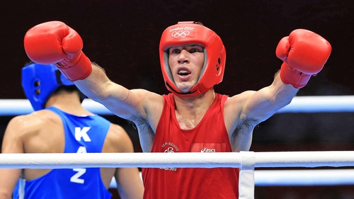 Boxer John Joe Nevin arguably delivered the most impressive Irish performance of the day at London 2012