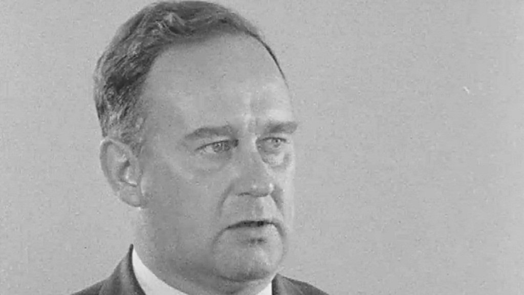 William Craig, Unionist MP and Minister for Home Affairs until December 1968.
