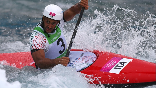 Canoe slalom: Gold for Italy's Molmenti