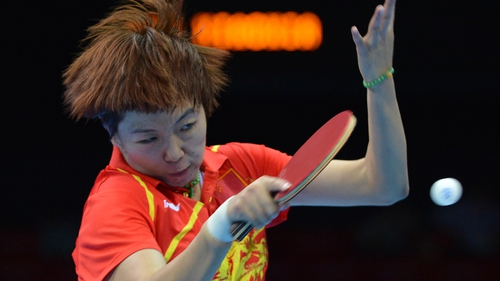 China's Li Xiaoxia claimed gold, beating favourite Ding Ning