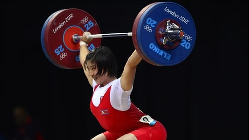 Rim Jong Sim won the gold with a total weight of 261 kg