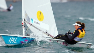 Ireland's Annalise Murphy during Race 5 of the Laser Radial event
