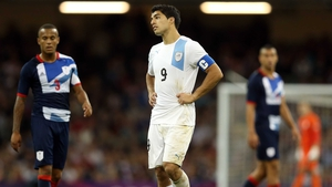 Luis Suarez has hit out at Great Britain fans who booed during the Uruguay anthem