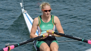 Day 1: Sanita Puspure made the quarter-finals of the Single Sculls