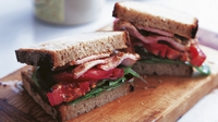 "The perfect bacon sandwich - Ed says: ""Although for different recipes it's best to use different varieties, I think for this recipe, dry-cured smoked back bacon works best."""