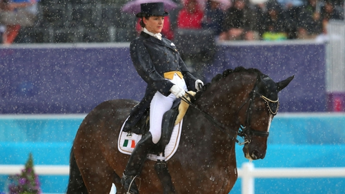 Anna Merveldt must wait until tomorrow to find out if she has made the Special Grand Prix