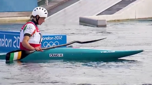 Day 6: Hannah Craig finished 10th in the K1 finals after posting a time of 127.36 with six penalty points.