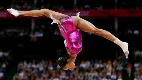 Gabby Douglas has been dubbed the 'Flying Squirrel'