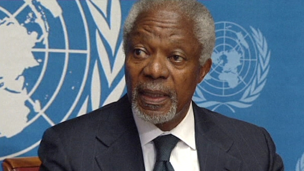 Kofi Annan is stepping down as the UN-Arab League mediator in the 17-month-old Syria conflict