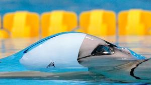 America's Belinda Hocking seen during the Women's 200m Backstroke heats