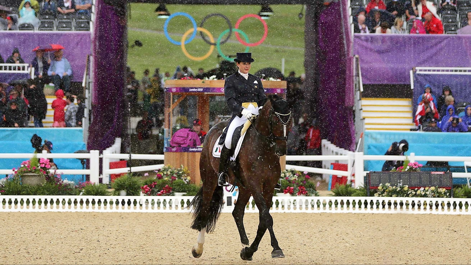 Day 6; Anna Merveldt, riding Coryolano, finished the day ranked 14th overall in the Individual Dressage competition.