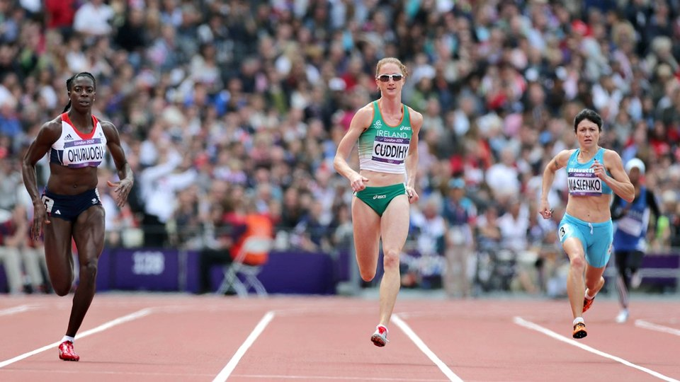 Day 7: Joanne Cuddihy qualified for the semi-finals of the women's 400m after finishing fourth in her heat