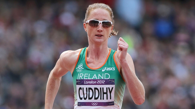 Joanne Cuddihy impressed for Ireland