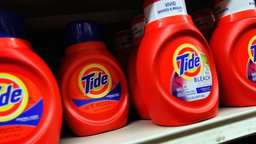 Tide detergent is among P&G's biggest selling brands