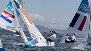 Peter O'Leary and David Burrows have made the medal race in the Star class