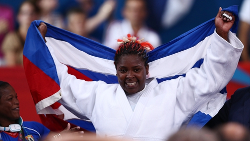 Idalys Ortiz added a gold medal to the bronze she won in Beijing