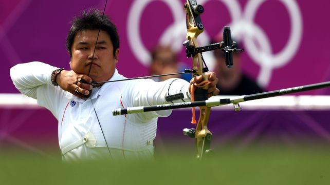Oh Jin-hyek on his way to gold medal at Lord's